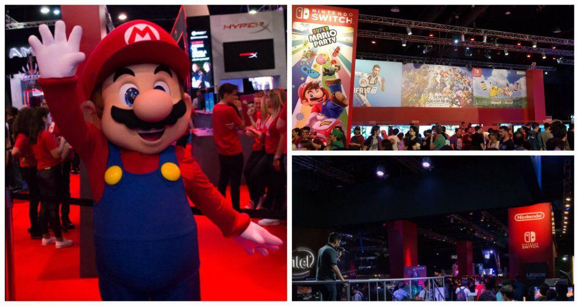 Nintendo, la vedette de la Argentina Game Show