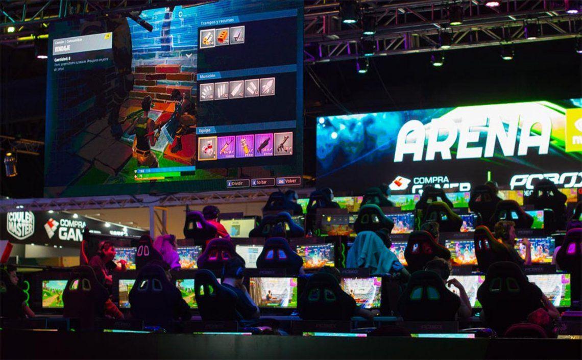 La realidad virtual, los battle royale y el FIFA 19, las estrellas de la Argentina Game Show 2018