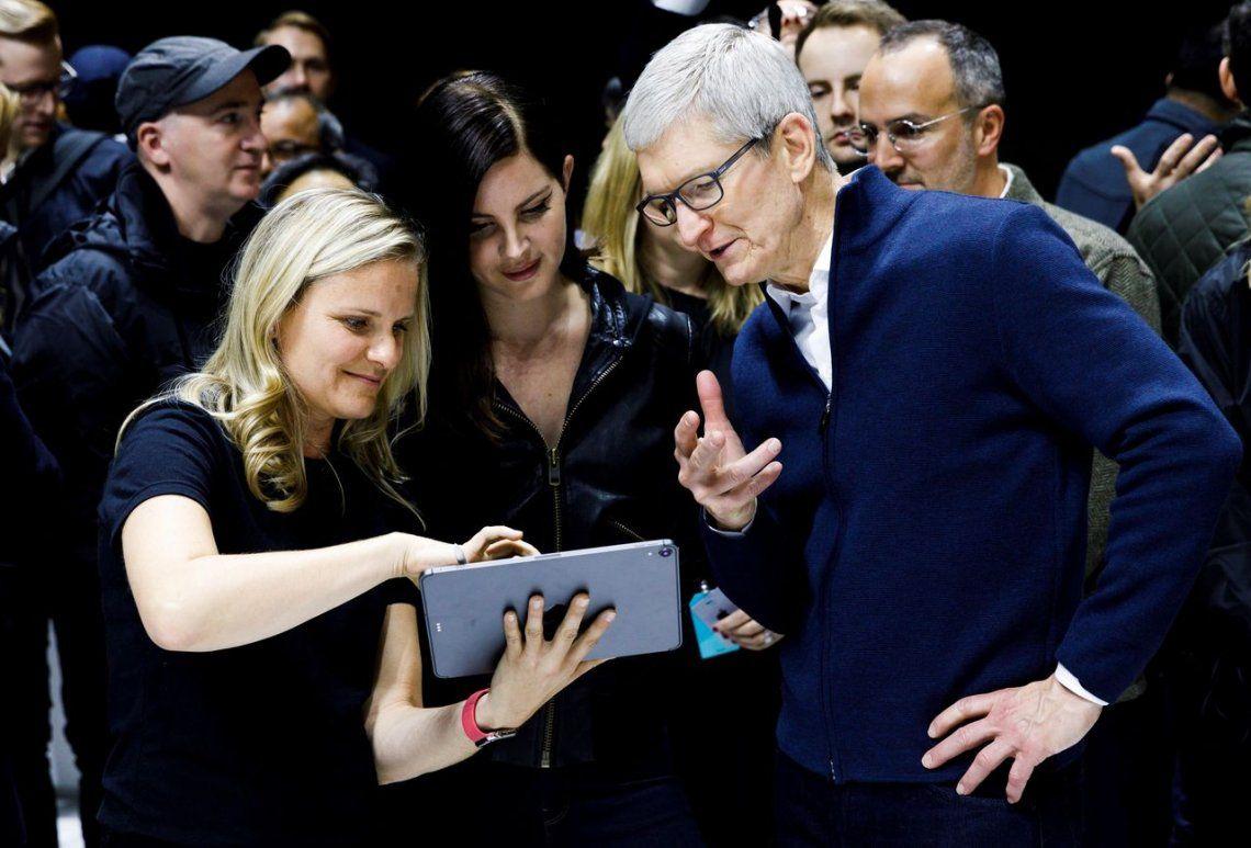 Apple presentó la nueva iPad con reconocimiento facial