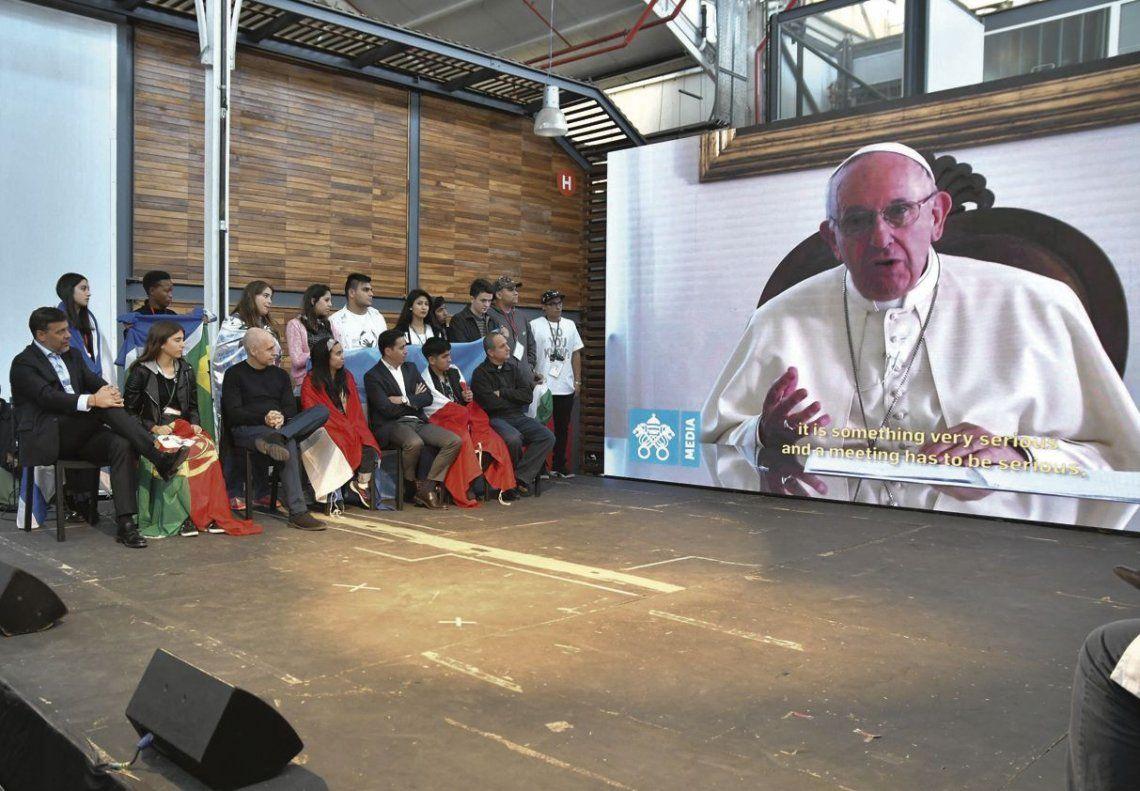 dEl cierre estuvo a cargo del papa Francisco