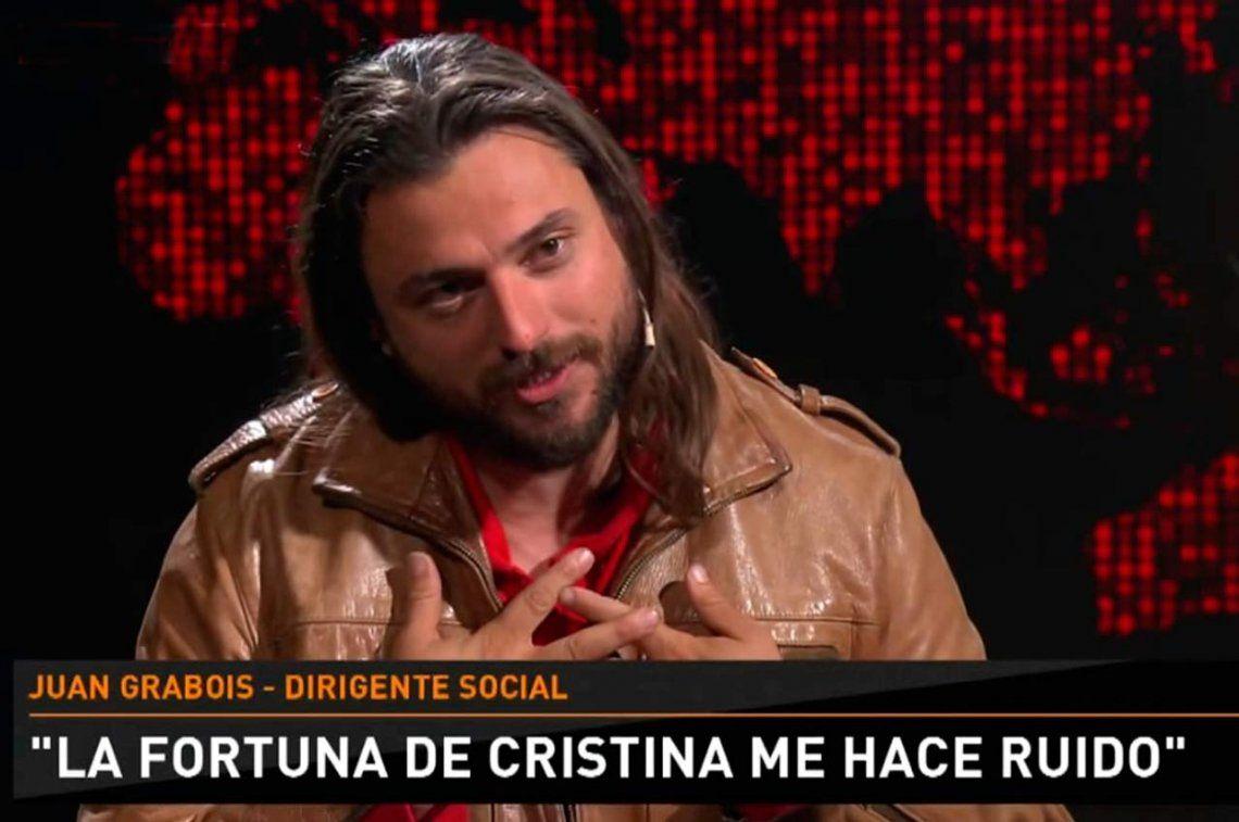 Juan Grabois habló sobre la polémica de las zapatillas y confesó que le hace ruido el patrimonio de Cristina Kirchner