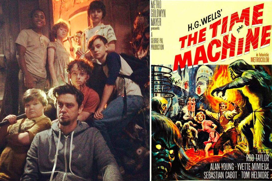 El director argentino de It va por otro clásico: La Máquina del Tiempo