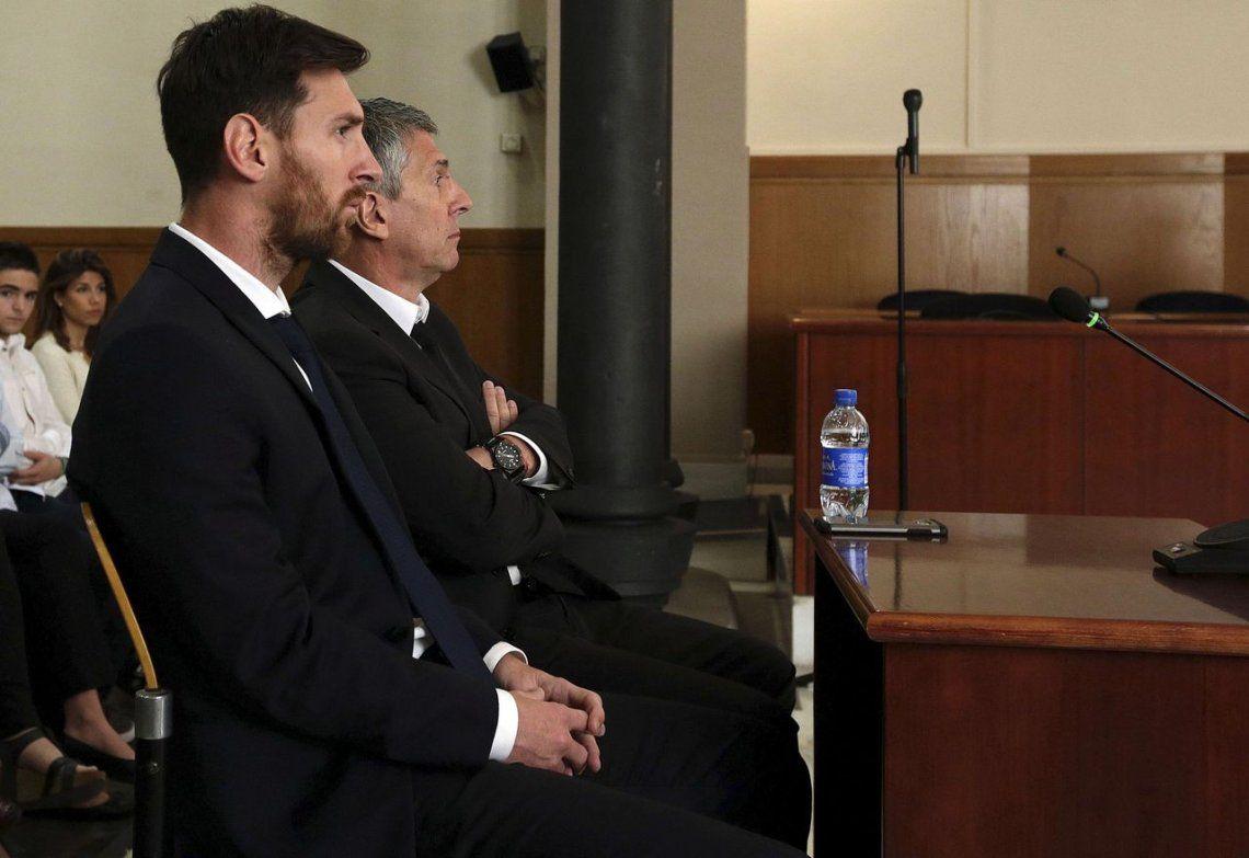 Messi y su padre fueron imputados por lavado de dinero