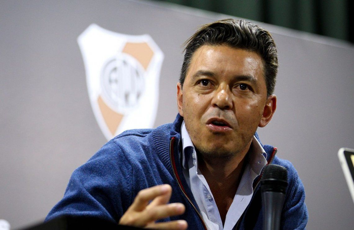Conmebol: Gallardo verá desde la platea los partidos hasta mediados de 2019
