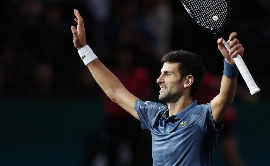 Djokovic le ganó a Cilic y avanzó a semifinales de París