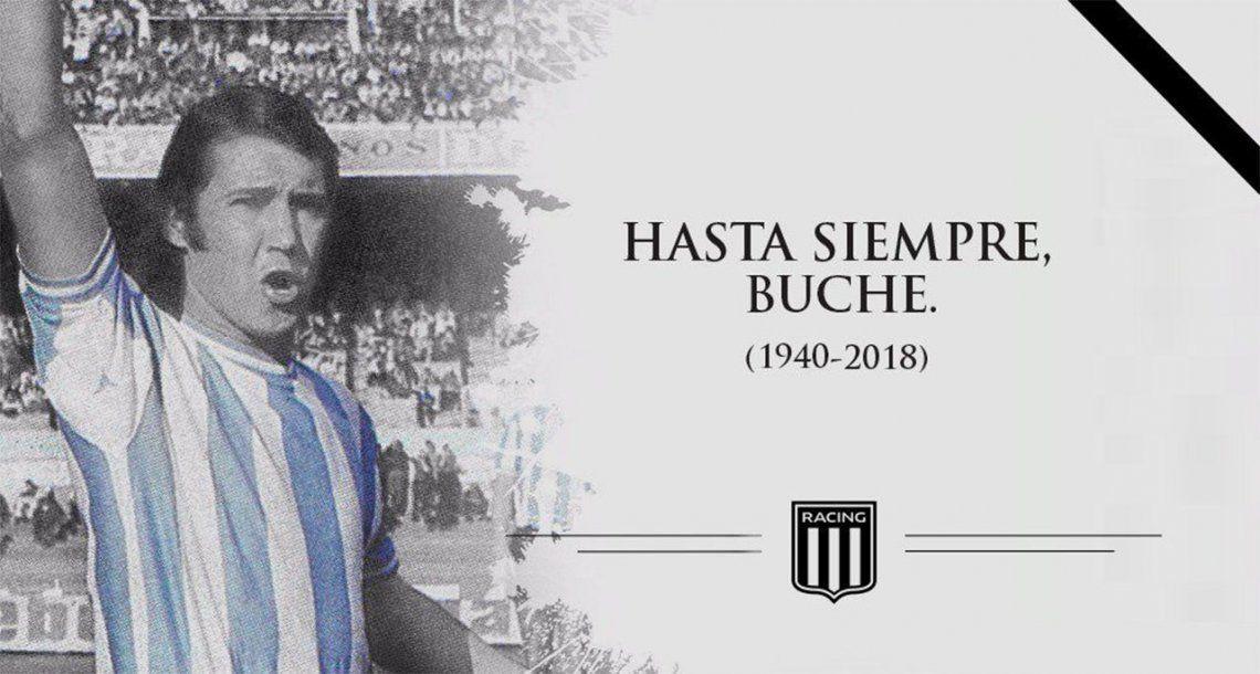 Murió Nelson Chabay, ex jugador de Racing y Huracán y técnico de Colón
