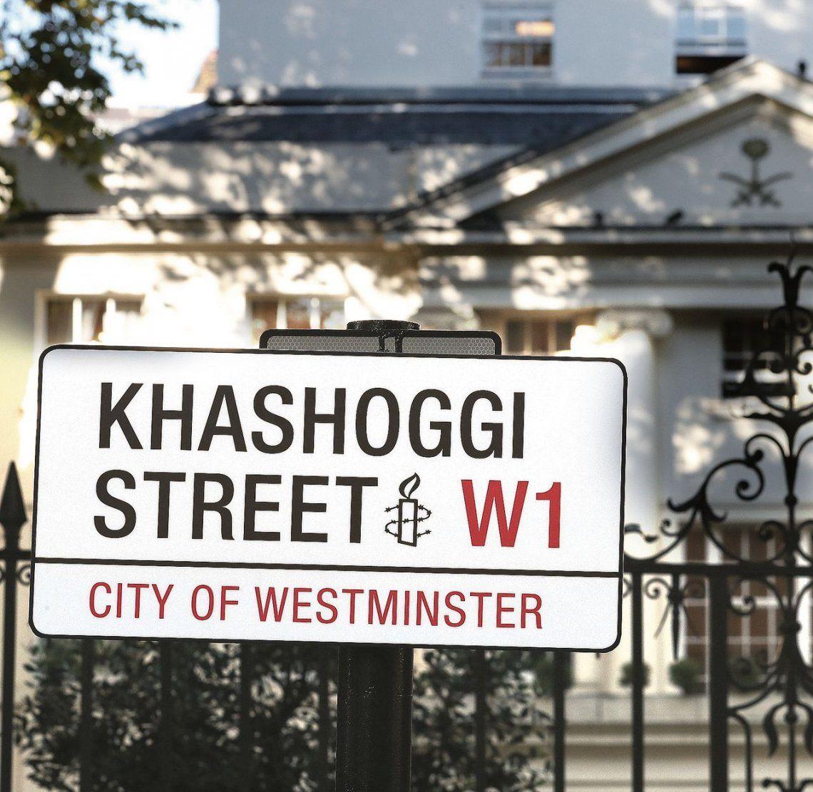 Calle de Londres rebautizada Khashoggi