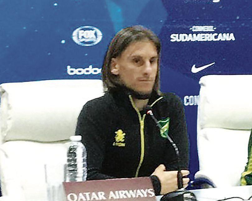 A Sebastián Beccacece le duró la bronca durante la conferencia de prensa.