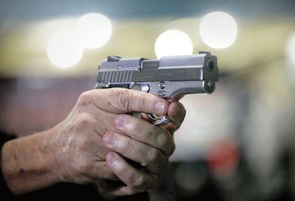 Hay armas en más de la mitad de las familias de todo el país.