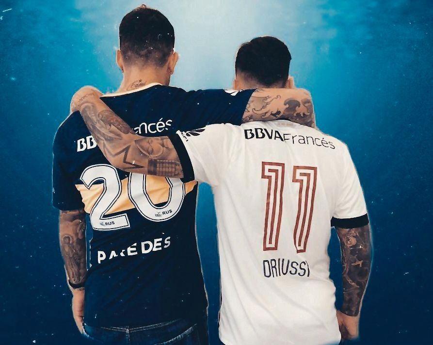 """""""Somos rivales, no enemigos"""", mensaje de  Paredes y Driussi"""