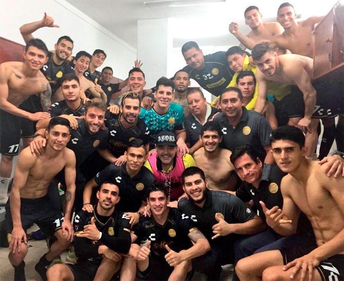 Tras haber arrancado antepenúltimo, Maradona clasificó a Dorados a la Liguilla