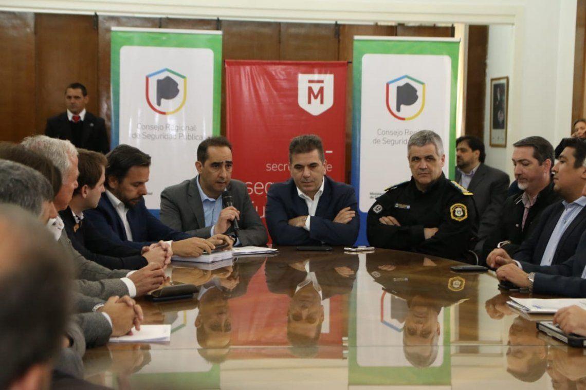 Ritondo y Tagliaferro participaron del Consejo de Seguridad Regional