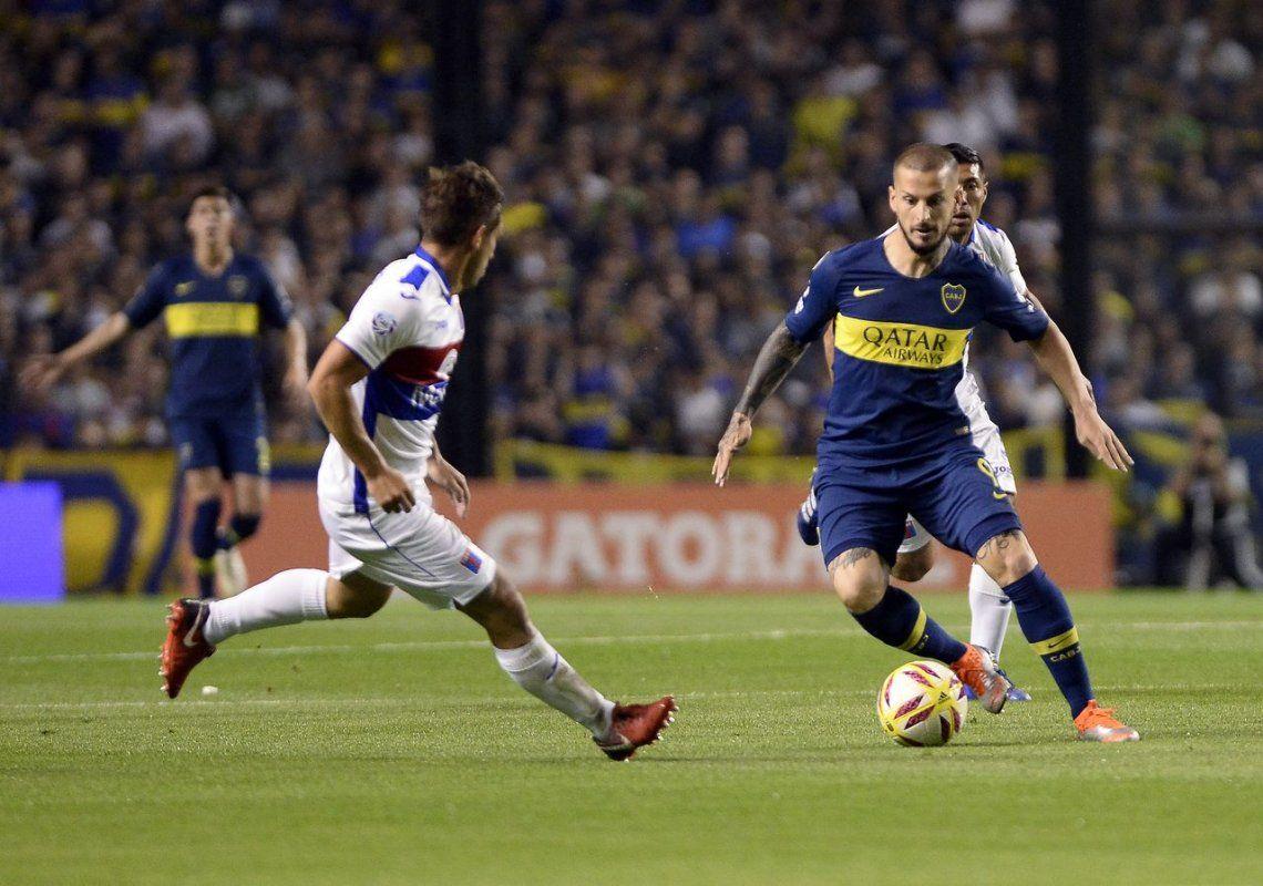 El muleto de Boca aplastó a Tigre y trepó posiciones en la Superliga
