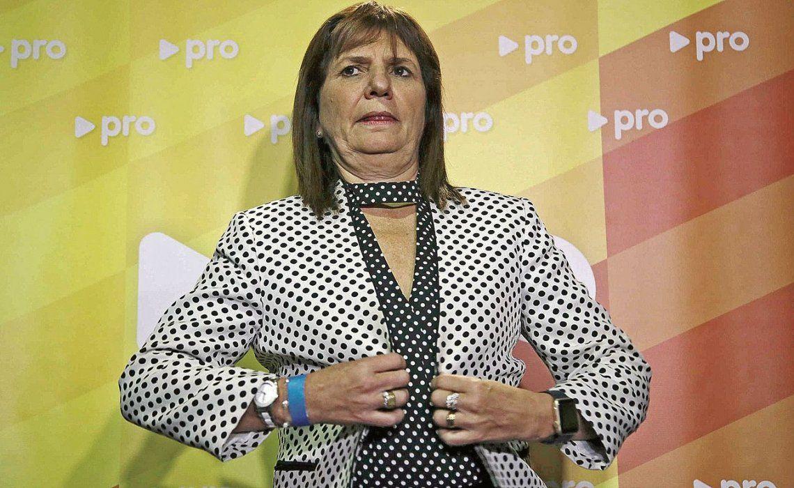dLa ministra Bullrich salió a ratificar sus dichos sobre la libertad de armarse