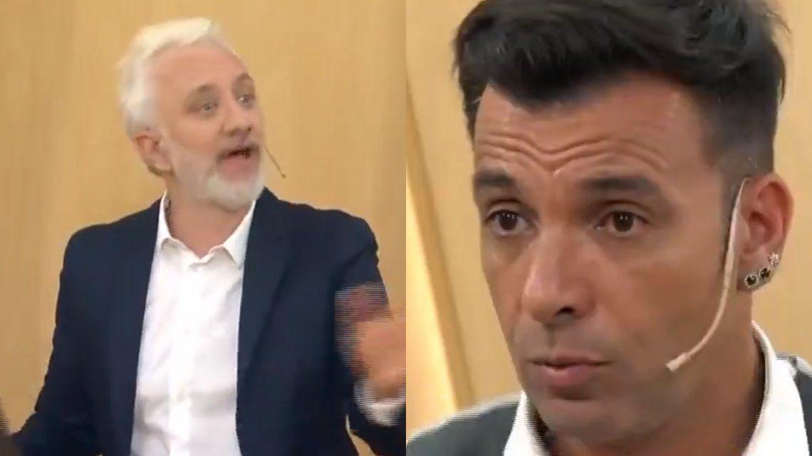 Andy Kusnetzoff tuvo un tenso momento con Martin Bossi: Cortala, esto no es tu show