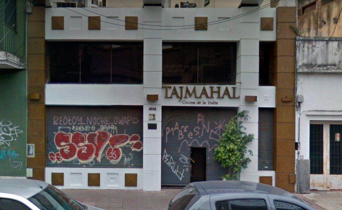 El local gastronómico asaltado funciona en la calle Nicaragua al 4300.