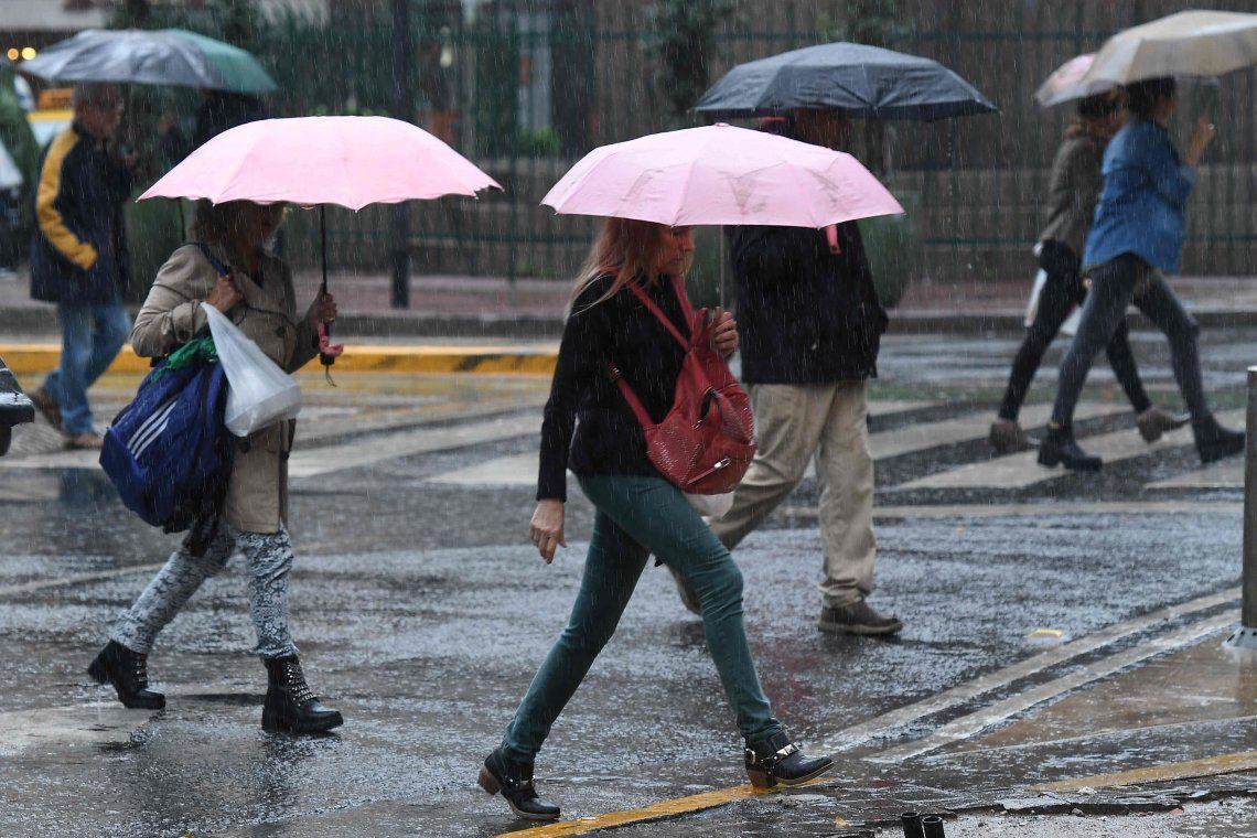 Se terminaron los días soleados y se viene la lluvia a la Ciudad
