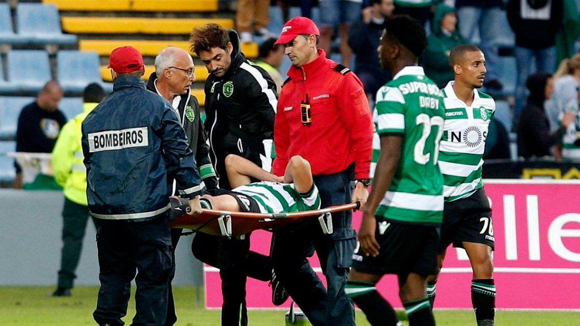 Baja inesperada para la Selección: Rodrigo Battaglia se rompió los ligamentos