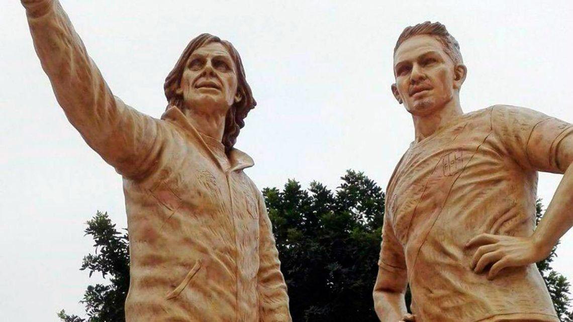El Tigre Gareca y Paolo Guerrero