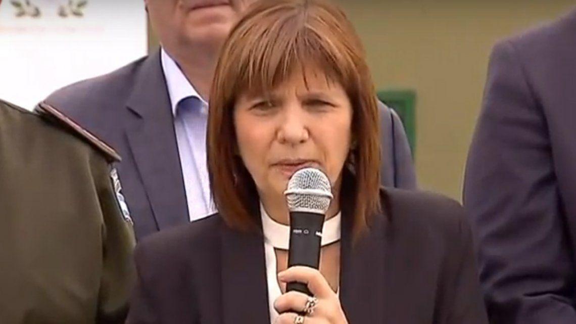 Patricia Bullrich: Si tenemos un G-20 ¿no vamos a dominar un River-Boca?