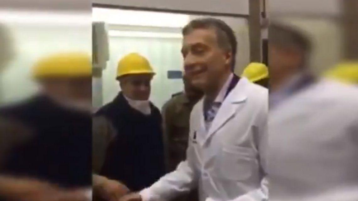 Macri le dijo culón a Gallardo y despertó la polémica a una semana de la final