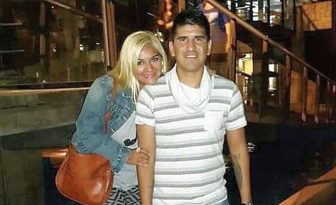 dGladys y Sebastián Escacena. Una discusión de pareja terminó haciendo un gran ruido mediático.