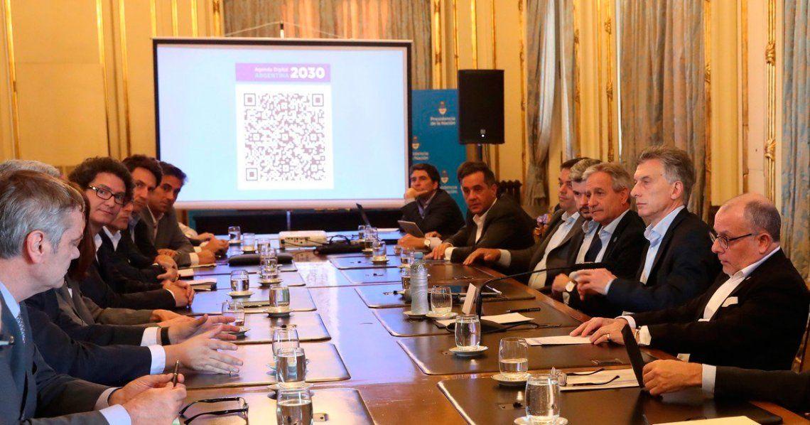 El gobierno presentó la Agenda Digital 2030