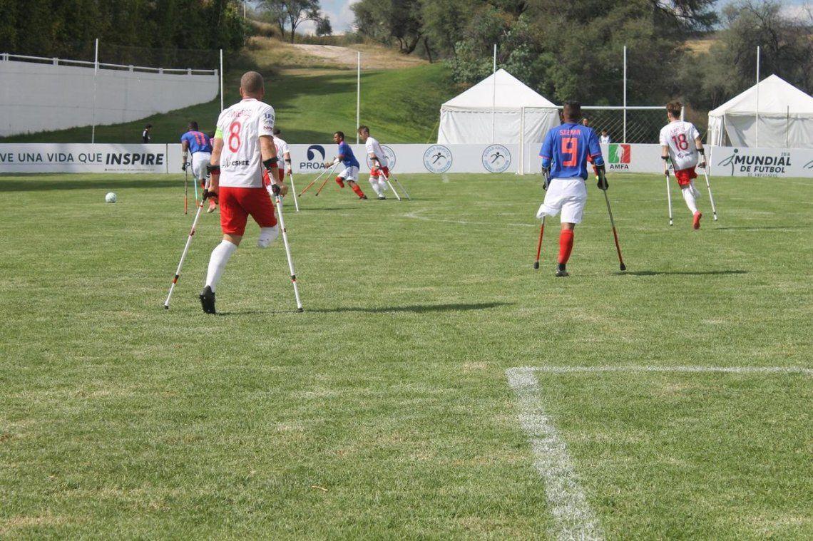 El Mundial de Fútbol para Amputados, en fotos