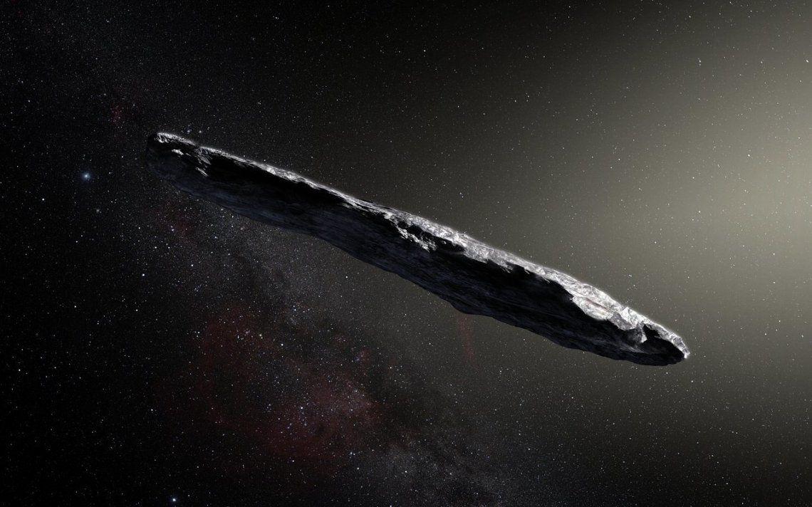 Para astrónomos de Harvard, el misterioso objeto interestelar Oumuamua podría ser una nave extraterrestre