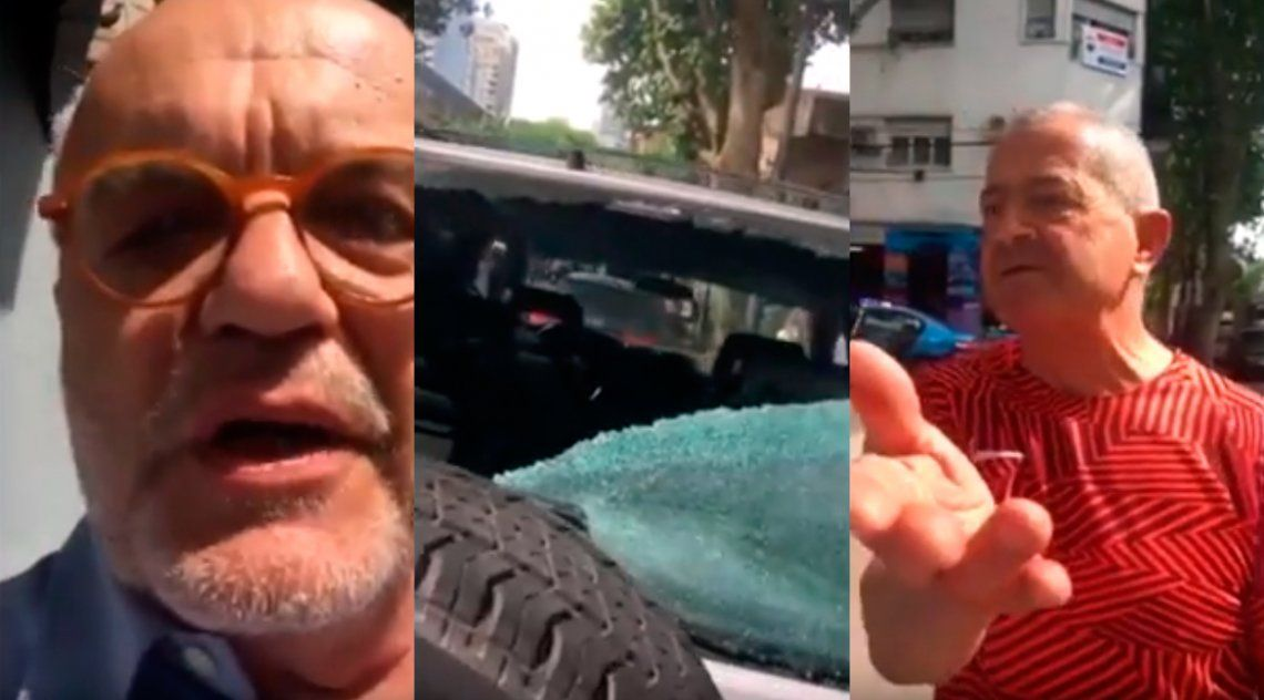 Juan Leyrado protagonizó un violento episodio vial con un agente de Interpol