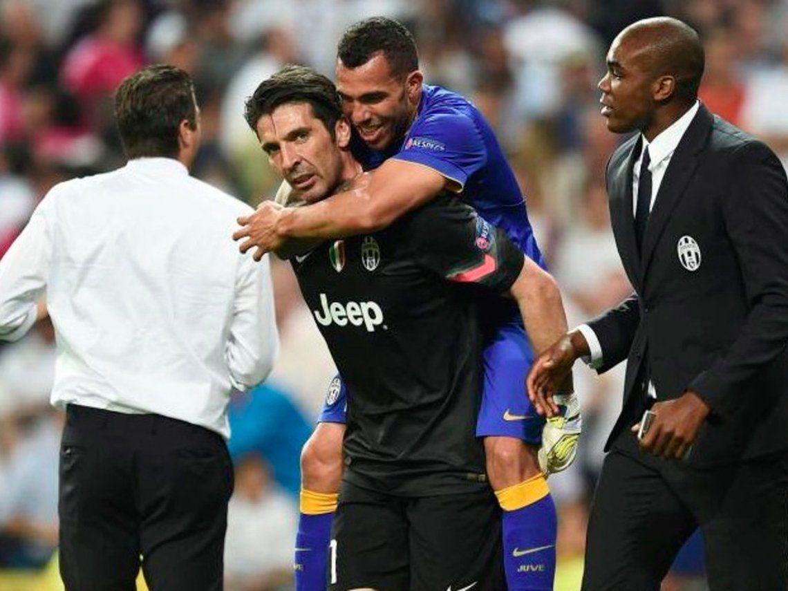 Buffon hinchará por Boca y dijo que por Tevez hubiera venido si alguien lo llamaba