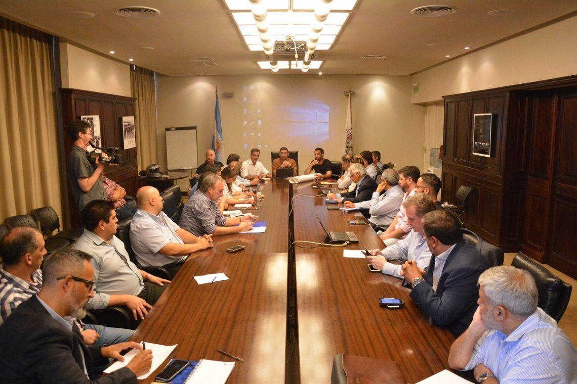 Reunión en el Ministerio de Justicia y Seguridad de la Ciudad