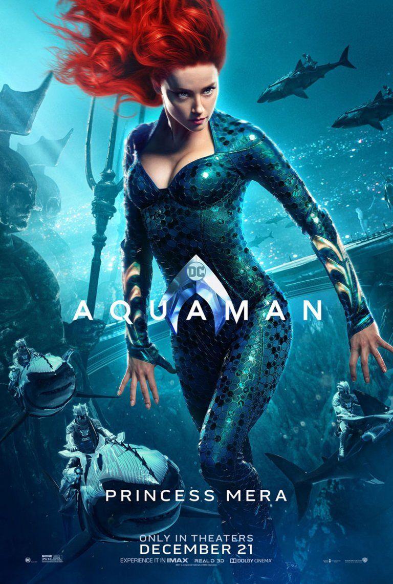 Aquaman: todos los personajes tienen su propio póster