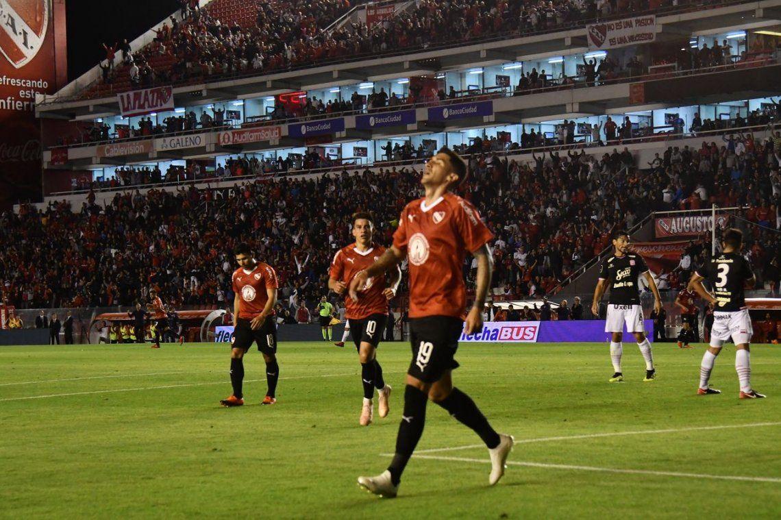 Con goles de Hernández, Gaibor, Romero y Gigliotti, Independiente goleó a San Martín de Tucumán