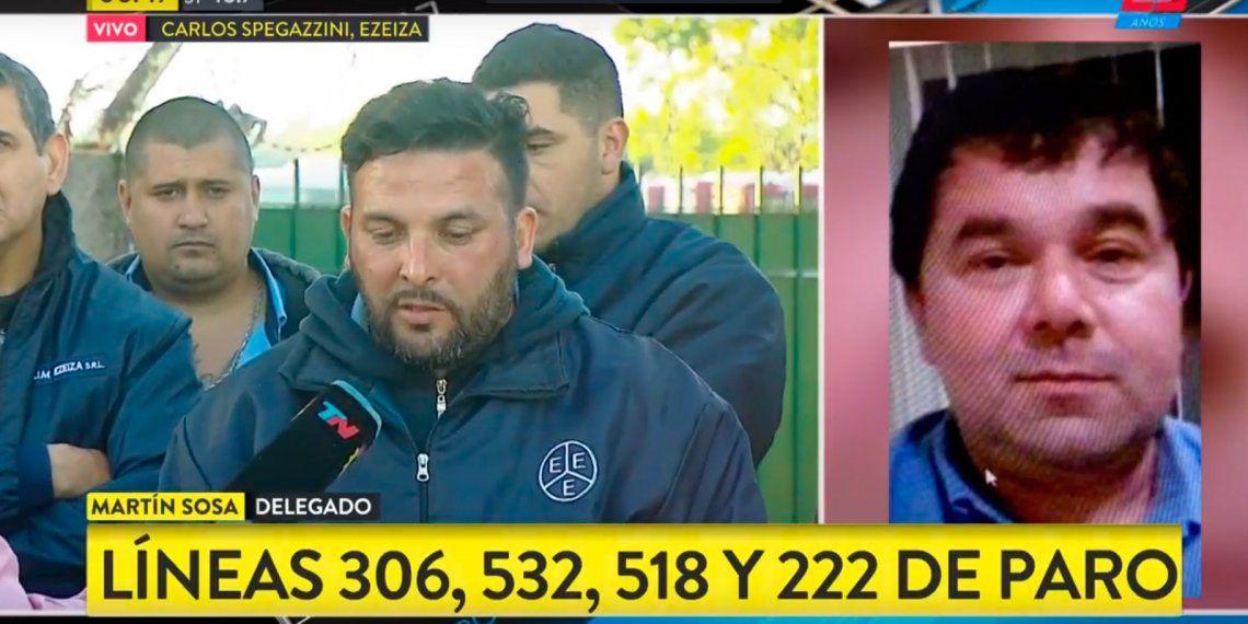 Lomas de Zamora: paro de 24 horas en cuatro líneas de colectivos por la muerte de un chofer
