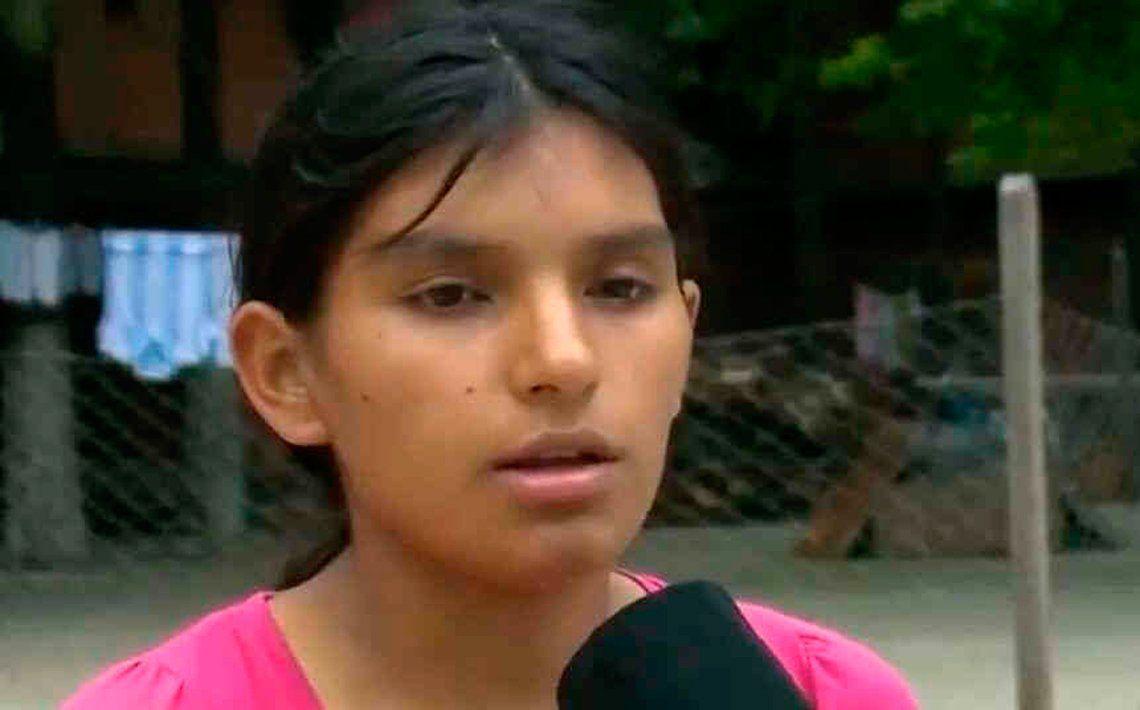 Leonela Ayala está detenida desde que apareció el cadáver de su sobrina.