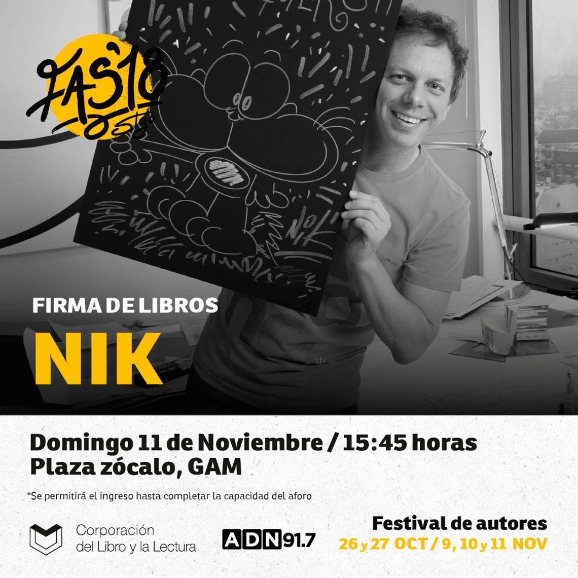 Autores chilenos repudian la visita del dibujante argentino Nik, a quien acusan de plagio