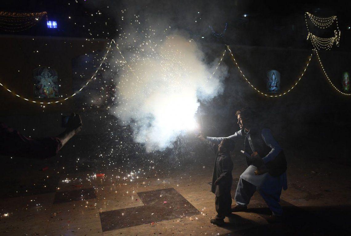 India: el Festival de las Luces, en fotos