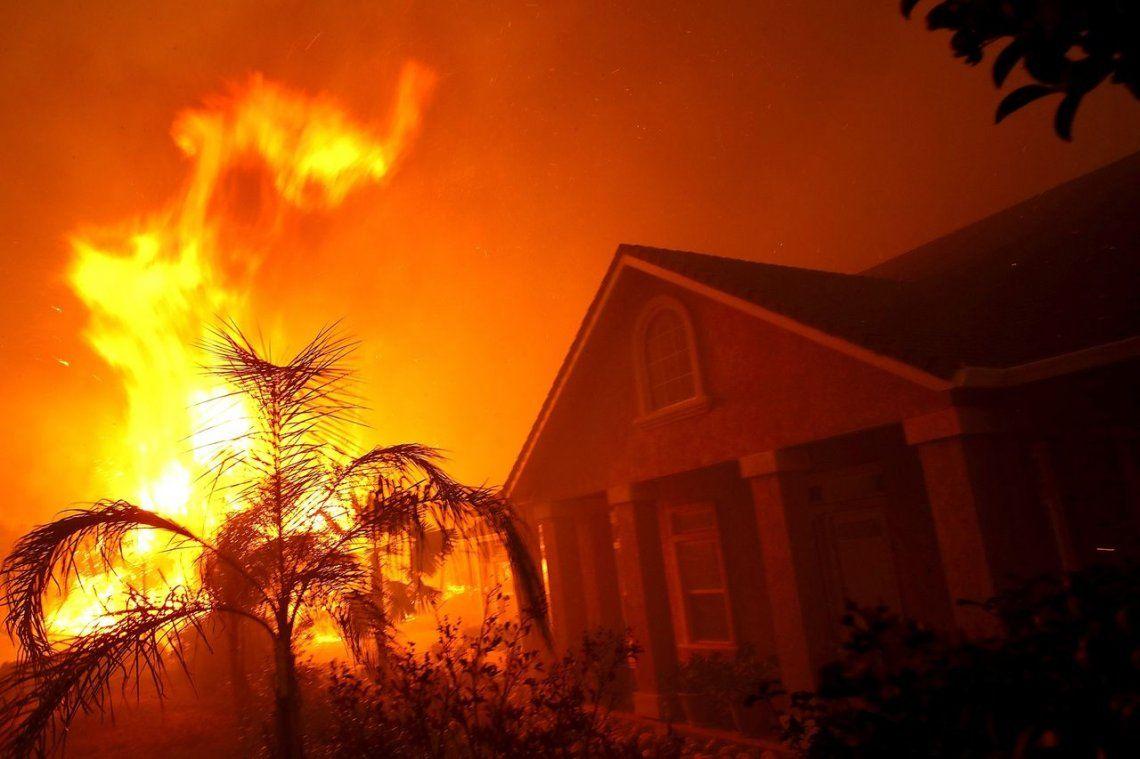 Impactantes fotos de los incendios forestales en California