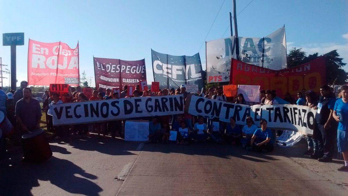 Panamericana: piquete de cooperativa contra el tarifazo fue impedido por Gendarmería