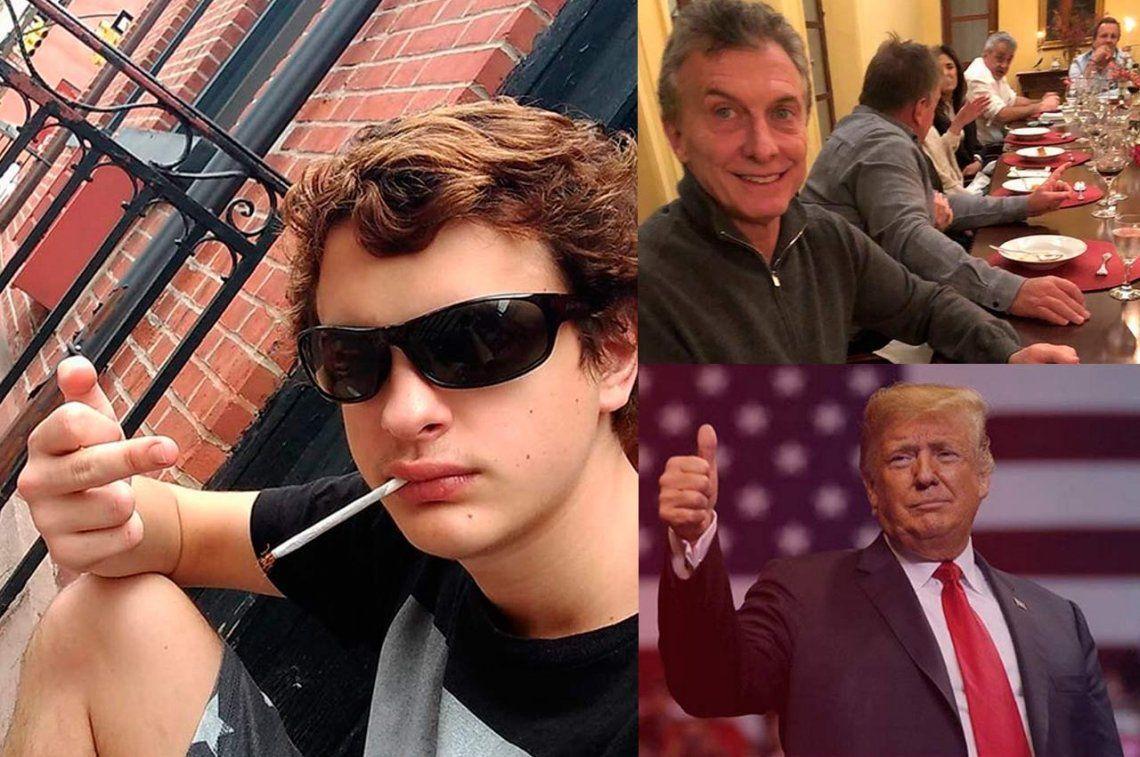 Lorenzo Ferro, premiado por El Ángel y muy duro con Macri y Trump