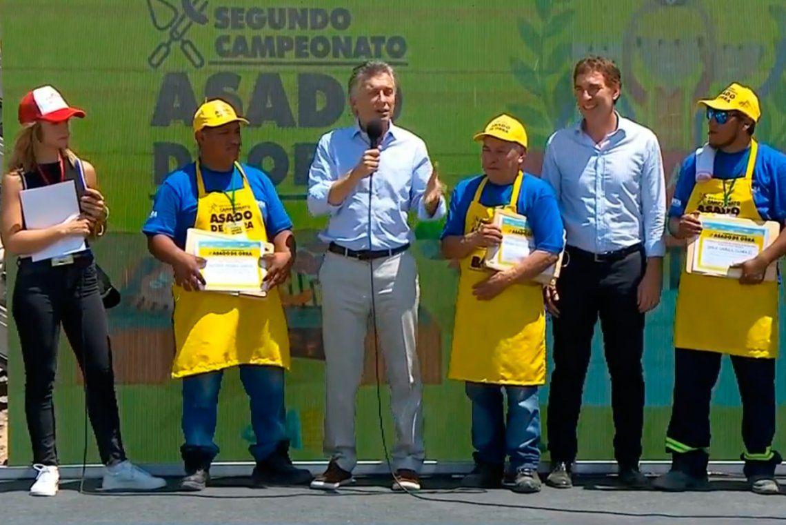 Mauricio Macri: Este partido es único, por eso pido que lo disfrutemos