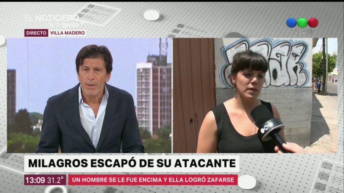 Nicolás Repetto en el centro de las criticas por otra pregunta a una mujer que fue asaltada