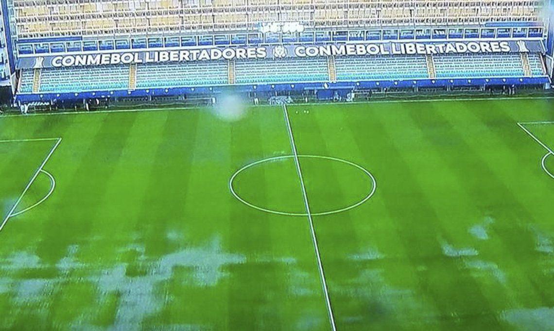 Boca-River, Copa Libertadores: la lluvia dejó al mundo sin Superclásico del Siglo