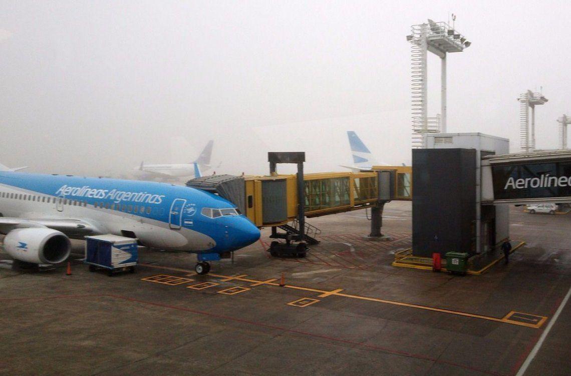 Vuelos demorados en Aeroparque por asambleas gremiales