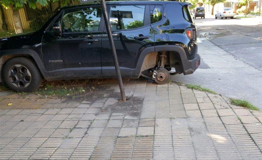 Quilmes: preocupación por robarruedas en Bernal Oeste