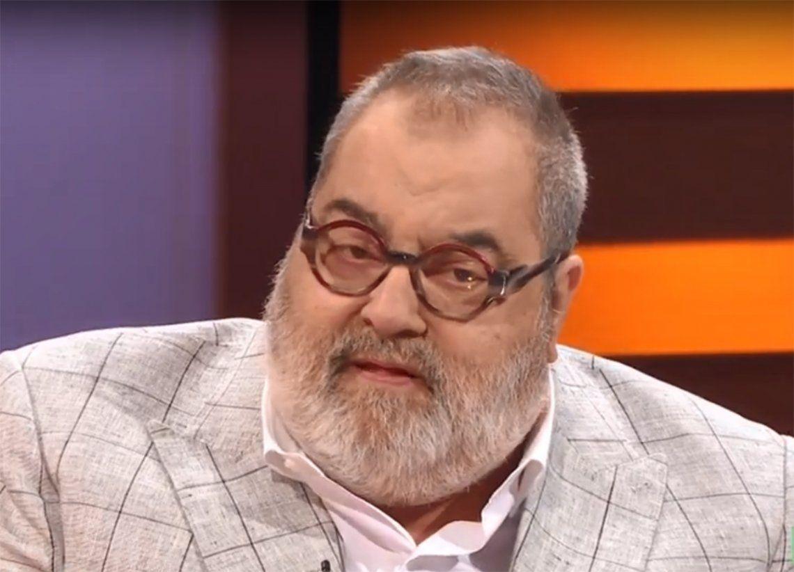 Jorge Lanata, otra vez internado