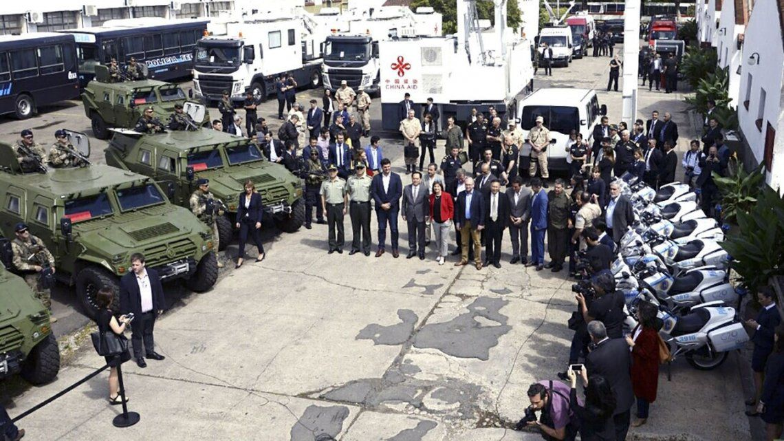 G20: Presentaron el equipamiento de Seguridad para la cumbre de presidentes