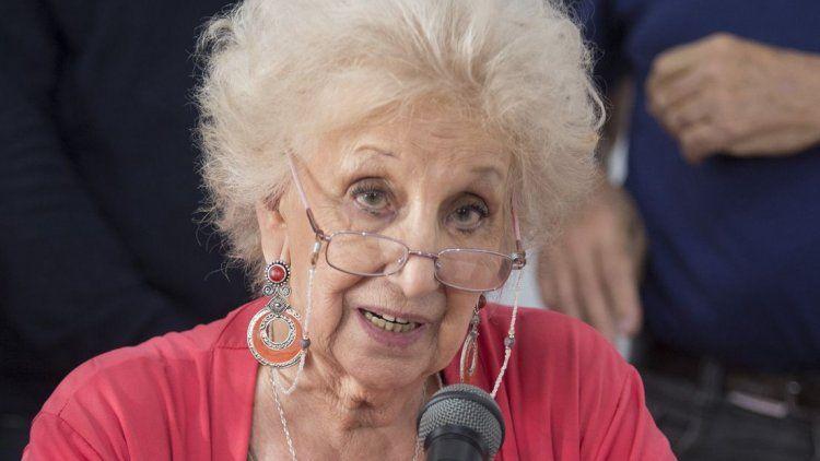Estela de Carlotto: No es una fecha de celebración sino de memoria