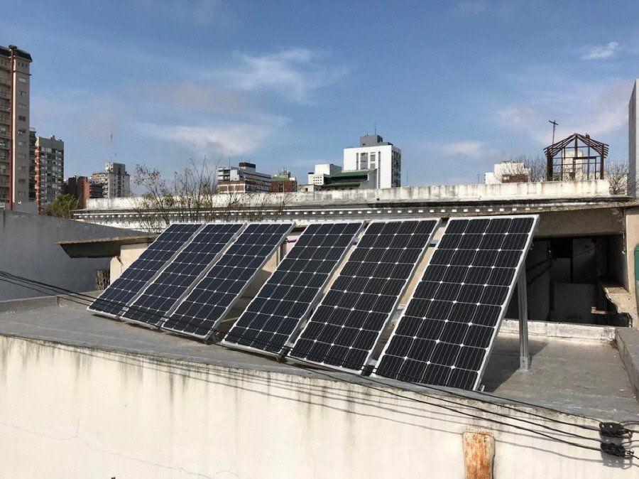 Quilmes: instalaron paneles solares en la Escuela Técnica N°4
